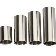4pcs/Lot Slide length Guitar Slide Bass Cylinder Tone Bar Chrome-plated Stainles