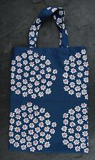 Handmade Puketti small tote bag purse Marimekko fabric Finland, kids boy girl