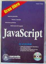 GRAN LIBRO JAVASCRIPT - GAMPERL / NEFZGER - MARCOMBO 2000 - INCLUYE DISCO - VER