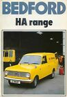 Bedford HA 110 130 Van 1977 Original UK Sales Brochure No B/BX1735 Vauxhall Viva
