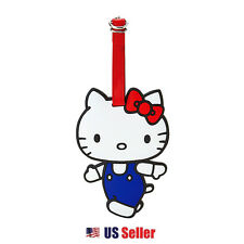 Sanrio Hello Kitty Luggage Rubber Tag : Travel Kitty