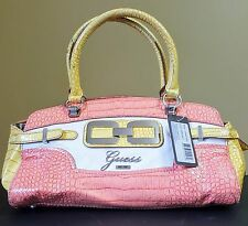 Guess Handbag Satchel Tote Mikelle Coral MSRP $110 #4