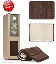 Memory Foam Bath Mat Rug Non Slip Bathroom Safety Shower Runner Floor Tub Soft