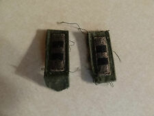 MILITARY PATCH US ARMY CLOTH RANK SET OF 2 WARRANT OFFICER 2 SEW ON COLLAR