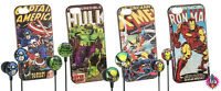 NEW OFFICIAL MARVEL CHARACTER AVENGERS IPHONE 5 CASE COVER BOXED AND EAR PHONES