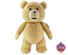 "NEW OFFICIAL TED THE MOVIE LARGE 18"" TALKING DELUXE PLUSH SOFT TOY TEDDY BEAR"
