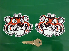 "ESSO TIGERS HEAD Stickers 4"" Pair Bike Scooter Triumph Tiger Lambretta Vintage"