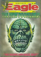 EAGLE #336 weekly British comic book August 27 1988 VG+ Action Force back cover