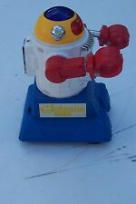 Vintage SC Johnson Wax advertising battery operated toy robot