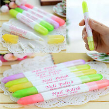 Special Nail Art Polish Remover Pen Varnish Corrector Cleaner + 3 Tip Pen Point