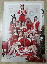 Twice : Twice coaster, Christmas Edition, Official KPOP Poster, Shipped in Tube