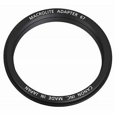 OFFICIAL NEW CANON Macrolite Adapter 67 M.L.ADP67 / AIRMAIL with TRACKING
