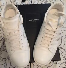 saint laurent shoes Size 41 1/2 Fits 9us White