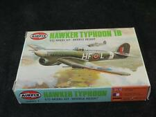 AIRFIX 1/72 Model Aircraft Kit HAWKER TYPHOON Unmade in Type 6 Box 1981
