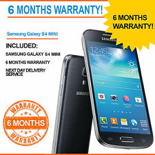 Samsung Galaxy S4 MINI GT-I9195 - 8GB S 4- Black - Unlocked