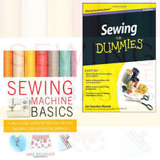 Sewing For Dummies Sewing Machine Basics Collection 2 Books Set  New UK