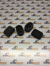 Land Rover Defender 90 300tdi Exhaust Rubber Mounts x 4 - Bearmach - NTC3650
