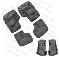 Black Saddlemen Saddlebag Lid Organizer Set For Harley Touring 1996-2013 HardBag