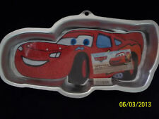 NEW Wilton Disney Pixar Lightning McQueen Cake Pan #95  Cars Movie + insert