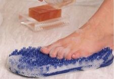 Foot Scrubber Shower Bath Brush Massager Spa Gift Soapy Soles Exfoliating Washer