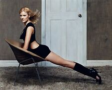 MAGGIE GRACE SEXY HOT POSING IN CHAIR 8X10