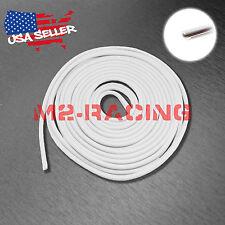 Soft Rubber Flexible White Door Edge Guard Scratch Paint Protection Molding Trim