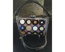 New Little Earth Mod Dots Super Cyclone Metal License Plate Purse