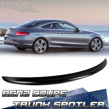 Carbon For Mercedes BENZ C205 Coupe C350 C180 Trunk Spoiler 2016 New