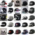 FASHION Mens Snapback Baseball Caps Bboy Brim adjustable Unisex Hip Hop Hats