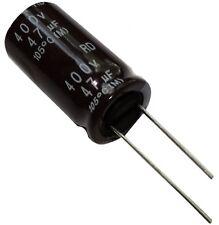5x Condensateur électrolytique chimique 47µF 400V THT 2000h Ø16x31.5mm radial