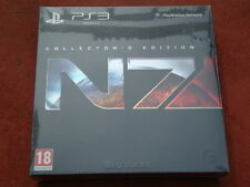 MASS EFFECT 3 COLLECTOR'S EDITION PARA LA SONY PS3 NUEVO PRECINTADO