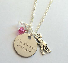 Harry Potter Always necklace with crystals Potter jewelry necklace USA from USA