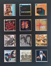 """THE SHADOWS DISCOGRAPHY 14"""" BY 11"""" LP COVERS PICTURE MOUNTED READY TO FRAME"""