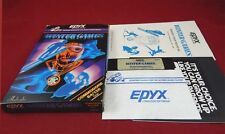 C64:  Winter Games - Epyx 1985
