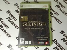 THE ELDER SCROLLS IV 4 OBLIVION GAME OF THE YEAR EDITION - XBOX 360 PAL ITALIANO