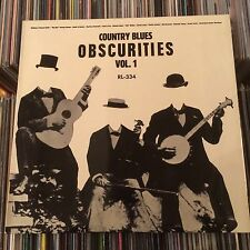 COUNTRY BLUES OBSCURITIES VOL.1 LP