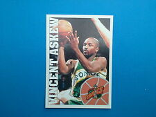 1995-96 Panini NBA Basketball Sticker N.262 Vincent Askew Seattle SuperSonics