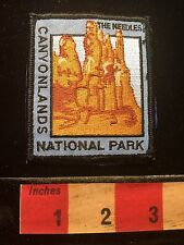 The Needles CANYONLANDS NATIONAL PARK Souvenir Patch State Of Utah C69C
