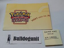Pokemon Trading Card Game League Game Mat Only NO CARDS