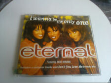 ETERNAL I WANNA BE THE ONLY ONE ORIGINAL CD SINGLE