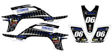 Yamaha Yfz 450 Factory Racing Nuevo Decal Sticker Kit en Mx Vinilo (no Oem)