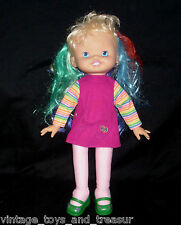 "16"" VINTAGE 1996 RAINBOW BRITE COLOR HAIR STUFFED ANIMAL PLUSH TOY DOLL HALLMARK"