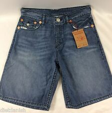 True Religion Men's Jeans Shorts Denim Blue Inseam 10.5 Venice TMS18VE Size 31