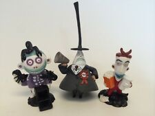 Tim Burton The Nightmare Before Christmas Lock Mayor And Barrel Pvc Figurines