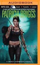 Mercy Thompson: Night Broken 8 by Patricia Briggs (2015, MP3 CD, Unabridged)