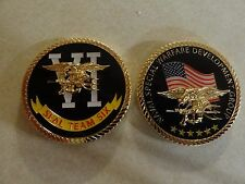 CHALLENGE COIN US NAVY NAVAL SPECIAL WARFARE DEVELOPMENT GROUP SEAL TEAM 6 RARE