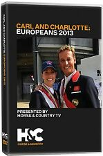 NEW SEALED DVD CARL AND CHARLOTTE EUROPEANS 2013 Hester Dujardin