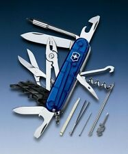 SWISS ARMY KNIFE VICTORINOX CYBERTOOL M / CT 34 - Translucent Sapphire 1.7725.T2