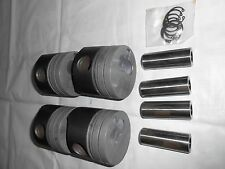 GENUINE OE PISTON SET WITH PISTON RINGS AND PIN FOR PEUGEOT 2.5 XD3P 94MM DIA