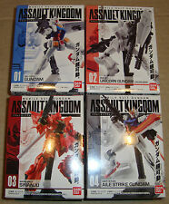 ASSAULT KINGDOM PART 1 RX-78-2/RX-0 UNICORN/MSN-06S SINANJU/GAT-X105 (GUNDAM)